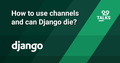 "Мітап ""How to use channels and can Django die?"""