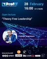 "Open Lecture ""Theory Free Leadership"""