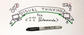 """Мастер-класс """"Visual Thinking for IT-Professionals"""""""