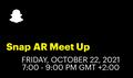Snap AR Meet-Up. Зустріч з AT лідерами компанії Снеп Україна