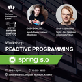 Workshop: Reactive Programming with Spring 5.0