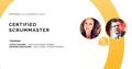 Тренинг Certified ScrumMaster™ by Stacia Viscardi