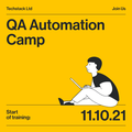 QA Automation Camp — оплачуване стажування з подальшим працевлаштуванням