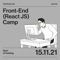 Front-End (React JS) Camp - оплачуване стажування з подальшим працевлаштуванням