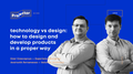 Лекція «Technology vs Design»