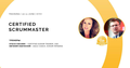 Certified ScrumMaster™ Training by Stacia Viscardi