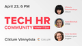 Tech HR Community Spring Meetup