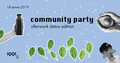 Community party | Afterwork detox edition