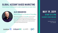 Global Account Based Marketing (ABM) executive event