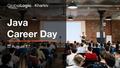 GlobalLogic Kharkiv Java Career Day