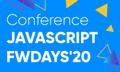 Конференція JavaScript fwdays'20