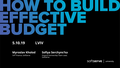 "Практичний семінар ""How to build effective budget"""