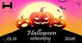 """Вечірка-нетворкінг """"Halloween networking"""""""