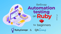 """Вебінар """"Automation testing on Ruby for beginners"""""""
