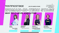 WomanInTech Stage: way to C-Level executive