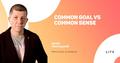 """Воркшоп """"Common Goal vs Common Sense"""""""