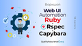 Воркшоп: Web UI Automation with Ruby + RSpec + Сapybara