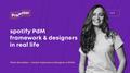 Лекція «Spotify PdM Framework & Designers in real life»