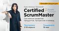 Certified ScrumMaster via ScrumAlliance | Курс Натальи Трениной