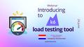 "Webinar ""Introducing to k6 load testing tool"""