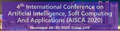 4th International Conference on Artificial Intelligence, Soft Computing And Applications (AISCA 2020)