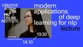 """Онлайн-лекція """"Modern applications of deep learning for NLP"""""""