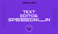 Alt.NET #5 Text Editor Speedrun