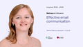 """Вебінар """"Effective email communication"""""""