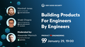 """MeetUp """"Building products for engineers by engineers"""""""