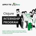 Clojure Internship Program by Agiliway - безкоштовне навчання з можливістю працевлаштування