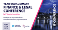 Year-End Summary Finance & Legal Conference by IT Ukraine Association