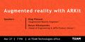 Augmented reality with ARKit MeetUp