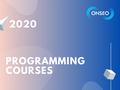 Курси від ONSEO | Java, JS, C#, Android/iOS