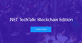 Lviv .NET TechTalk: Blockchain Edition