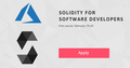 "Intensive course ""Solidity for Software Developers"""