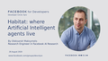 "Webinar ""Habitat: where Artificial Intelligent agents live"""