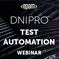 Dnipro Test Automation Webinar