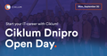 Ciklum Dnipro Open Day