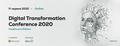 Digital Transformation Conference 2020 Healthcare Edition