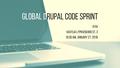 Global Drupal Code Sprint, Kyiv