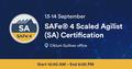 SAFe® 4 Scaled Agilist (SA) Certification Based on version 4.6