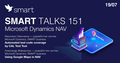 Smart Talks 151: Microsoft Dynamics NAV
