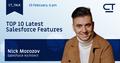 Customertimes_Talk - Top 10 Latest Salesforce Features