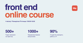 Безкоштовні онлайн курси Front end з оплатою після працевлаштування