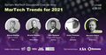 "Зустріч MarTech Discussion Club ""MarTech Trends for 2021"""
