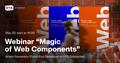 """Webinar """"Magic of Web Components"""""""