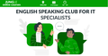 """English Speaking Club for IT specialists - """"Why making mistakes is important"""""""