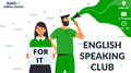"""English Speaking Club for It specialists - """"Networking"""""""