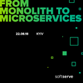 MeetUp: From monolith to microservices