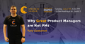 Dnipro Speakers' Corner: Why Great Product Managers are Not PMs